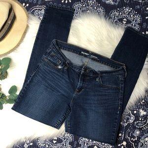 Old Navy Original Mid Rose Denim Jeans